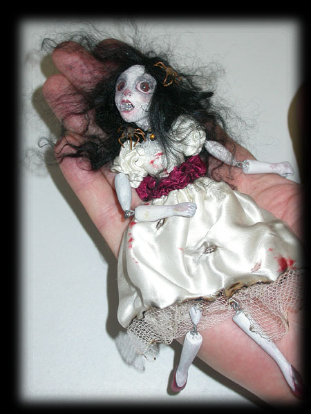 Annabel Lee, haunted Ghost Orphan of Ravensbreath Castle, making trouble, as usual