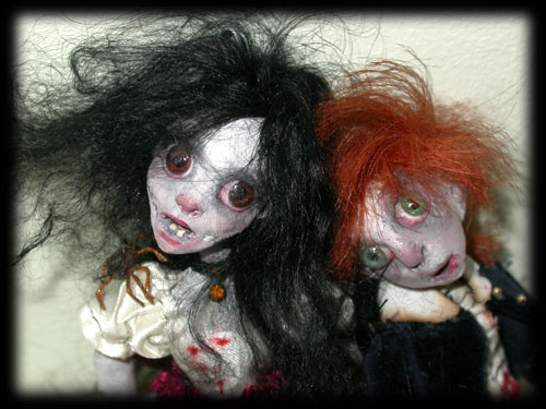 Haunted ghost children of Ravensbreath Castle, Annabel Lee & Percy