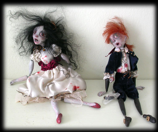 Haunted ghost children, Annabel Lee & Percy