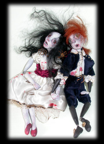 ghosts Annabel Lee & Percy