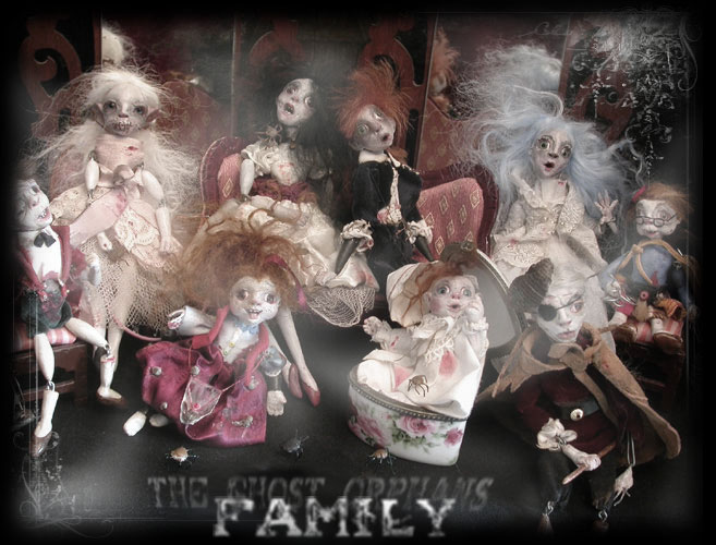 The family of ghost orphans of Ravensbreath Castle