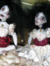 2 Annabel little ghost dolls together
