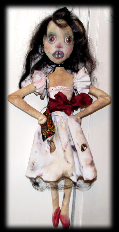 Annabel Lee the Ghost Doll by Ravensbreath