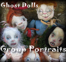 Ghost Doll Portraits from Ravensbreath