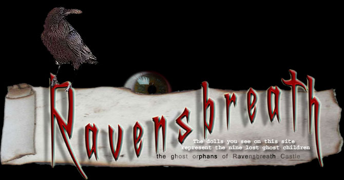 Prepare to be haunted forever and Welcome to The Ghost Orphans of Ravensbreath Castle