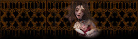 Annabel Lee, one of the Ghost Orphans of Ravensbreath Castle, Story and Film by M Leigh Allan